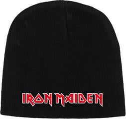 Iron Maiden Logo Embroidered Knitted Ski Hat