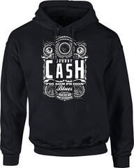 Johnny Cash Folsom Prison Hooded Sweatshirt Black