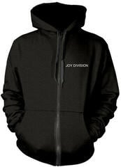 Plastic Head Joy Division Unknown Pleasures Hooded Sweatshirt Zip Black