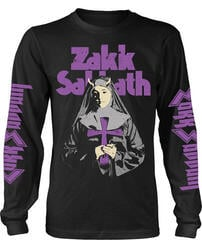 Zakk Wylde Zakk Sabbath Nun Long Sleeve Shirt Black
