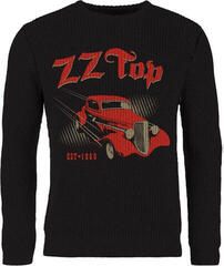 Plastic Head ZZ Top Eliminator Knitted Jumper Black
