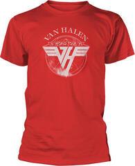 Van Halen 1979 Tour T-Shirt Red