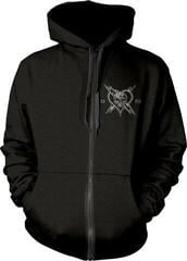 The Wildhearts England 1989 Hooded Sweatshirt Zip Black