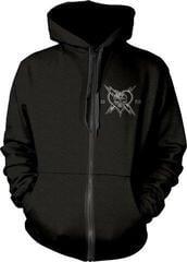 The Wildhearts England 1989 Hooded Sweatshirt Zip Black