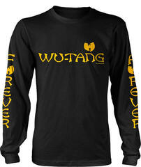 Wu-Tang Clan Logo Long Sleeve Shirt Black
