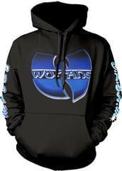 Wu-Tang Clan Logo/C.R.E.A.M. Multi-Print Hooded Sweatshirt S