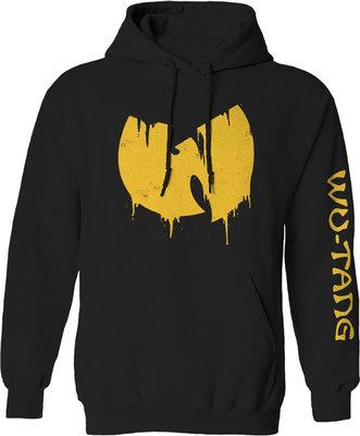 Wu-Tang Clan Sliding Logo Zenei kapucnis pulóver