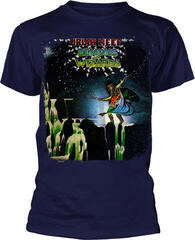 Uriah Heep Demons And Wizards T-Shirt Navy Blue