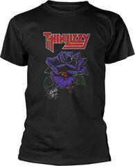 Thin Lizzy Black Rose T-Shirt L