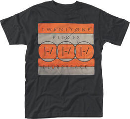 Twenty One Pilots In Blocks T-Shirt Black