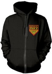 Kiss Kiss Army Hooded Sweatshirt Zip Black