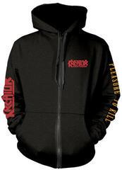 Plastic Head Kreator Pleasure To Kill Hooded Sweatshirt Zip Black