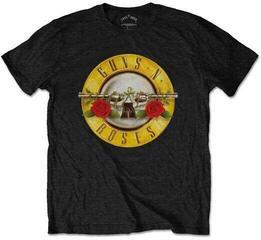 Guns N' Roses Unisex Tee Classic Logo (Retail Pack) Black