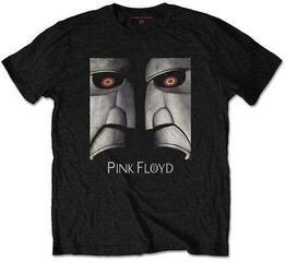 Pink Floyd Unisex Tee Metal Heads Close-Up Black