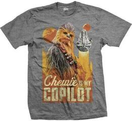 Star Wars Unisex Tee Solo Chewie Co-Pilot Grey