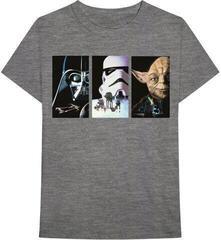 Star Wars Unisex Tee Tri VHS Art Grey
