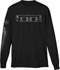 Tool Unisex Long Sleeve Tee Spectre (Back & Arm Print) Black
