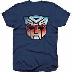 Hasbro Unisex Tee Transformers Autobot Shield Distress S