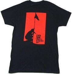 U2 Unisex Tee Blood Red Sky Black
