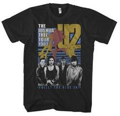 U2 Unisex Tee Bullet The Blue Sky Black