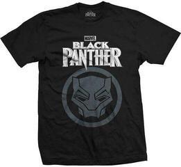 Marvel Comics Unisex Tee Black Panther Big Icon Black