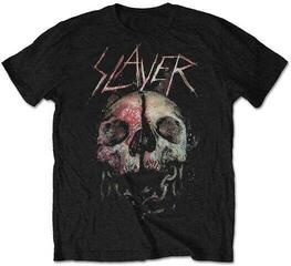 Slayer Unisex Tee Cleaved Skull Black
