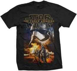 Star Wars Unisex Tee Episode VII Phasma & Troopers Black