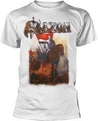 Saxon Crusader White T-Shirt White