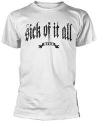 Sick Of It All Pete T-Shirt White