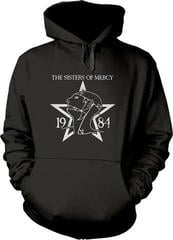 The Sisters Of Mercy 1984 Hooded Sweatshirt Black