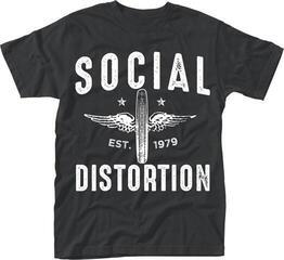 Social Distortion Winged Wheel T-Shirt XL