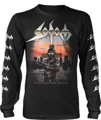 Sodom Persecution Mania Long Sleeve Shirt Black