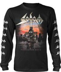 Sodom Persecution Mania Long Sleeve Shirt Black