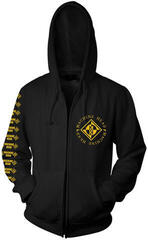 Machine Head Diamond Hooded Sweatshirt Zip Black