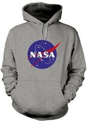 NASA Insignia Logo Hooded Sweatshirt Grey