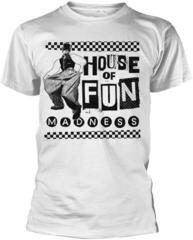 Madness Baggy House Of Fun T-Shirt White
