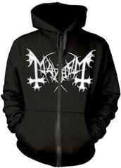 Mayhem De Mysteriis Dom Sathanas Hooded Sweatshirt Zip Black