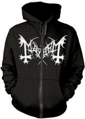 Mayhem De Mysteriis Dom Sathanas Hooded Sweatshirt Zip Black