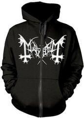 Mayhem De Mysteriis Dom Sathanas Hooded Sweatshirt Zip M