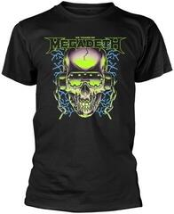 Megadeth 35 Years H/Phones Skull T-Shirt Black