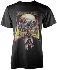 Megadeth Flaming Vic T-Shirt Black