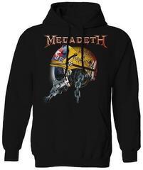 Megadeth Full Metal Vic Hooded Sweatshirt Black