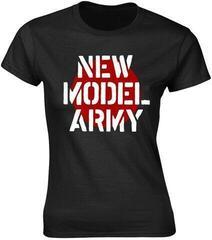 New Model Army Logo Womens T-Shirt Black