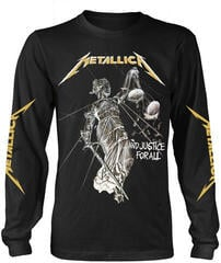 Metallica And Justice For All Long Sleeve Shirt Black