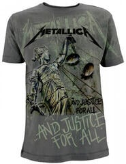 Metallica And Justice For All Neon All Over T-Shirt L