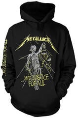 Metallica And Justice For All Tracks Hooded Sweatshirt Black