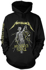 Metallica And Justice For All Tracks Hooded Sweatshirt L