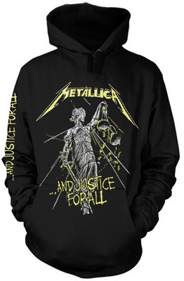 Metallica And Justice For All Zenei kapucnis pulóver