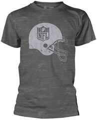 NFL Helmet Shield T-Shirt Grey