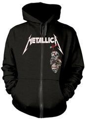 Metallica Death Reaper Hooded Sweatshirt Zip Black